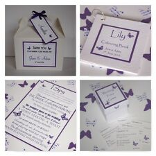Handmade BUTTERFLY wedding : GAMES & CHILDREN; 4 designs;60 colours/any qty