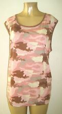 Derek Heart Plus Size Tank Top Camouflage Army Size 1X 2X 3X New NWT