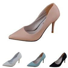 Fashion Stilettos Pointed Toe High Heels Pumps Shallow Mouth Office Lady Shoes