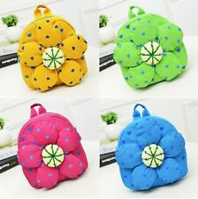 Baby Toddler Kids Child Mini Cartoon Sun Flowers Backpack Schoolbag Shoulder Bag