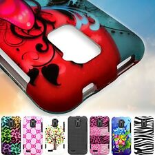 Hard Snap On Protective Design Phone Cover Case for ZTE Warp LTE N9510