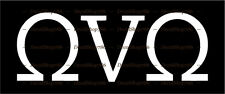 OVO - October's Very Own II - Drake - Vinyl Die-Cut Peel N' Stick Decal/Sticker