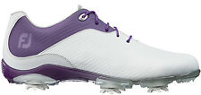 Ladies FootJoy DryJoys DNA Golf Shoes 94822 White/Purple CLOSEOUTS Womens New