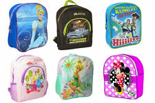 Kids Boys Girls Children Disney Backpack School Bag Rucksack Gift Set New