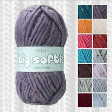 SIRDAR BIG SOFTIE SUPER CHUNKY YARN - ALL SHADE OPTIONS - FROM 1/2 PRICE