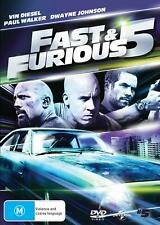 Fast and Furious 5 (dvd/uv) - DVD Region 4