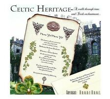 qty 120 Irish Claddagh Scroll Wedding Party Invitations Invites and RSVP Cards