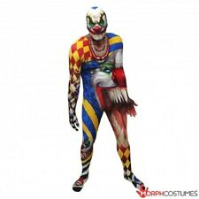 MORPHSUITS THE CLOWN CREEPY MONSTER ADULT BODY SUIT HALLOWEEN DELUXE COSTUME
