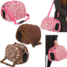Pet Outdoor Carrier Portable Folding Comfort Crate Bag Travel Tote House Cage