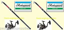 Shakespeare Omni 13ft Telescopic Rod Sea Fishing Beach Beachcaster  Reel option