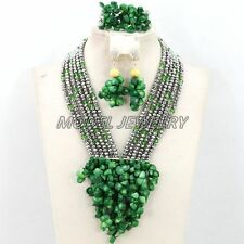 African Coral Beads Jewelry Sets,Natural Coral Crystal Woman Jewelry Necklaces