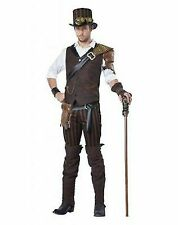 ADULT STEAMPUNK ADVENTURER SCARY SPOOKY VILLAIN HALLOWEEN COSTUME COSPLAY 01508
