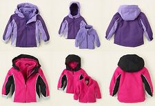 The Childrens Place 3 In 1 Hooded Coat & Jacket ~ Size 9-12 Months ~ NWT