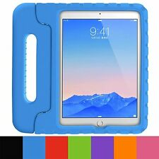 Kids Childrens Shockproof EVA Foam Handle Stand Case Cover For iPad Air 2 iPad 6