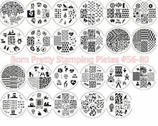 Nail Stamping Plates Nail Art Manicure Image Stamp Stencil Template Born Pretty