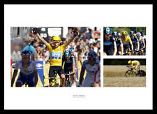 Bradley Wiggins 2012 Tour de France Photo Montage Memorabilia (WIGMU1)