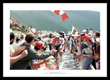 Miguel Indurain 1996 Last Tour de France Cycling Photo Memorabilia (985)