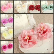 20pcs*8cm Artificial Silk Flower Peony Rose Head For Wedding Party Decoration