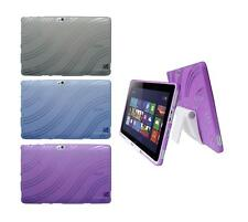 View Stand Holder + TPU Gel Skin Case Cover for Acer Iconia W510 Tablet