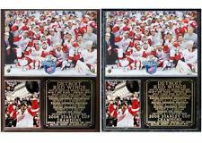2008 Detroit Red Wings Stanley Cup Champions Photo Plaque