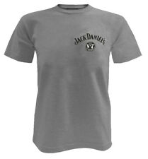 Jack Daniels Men's Tennessee Whiskey Made in USA T-Shirt - Gray 15261481JD-79