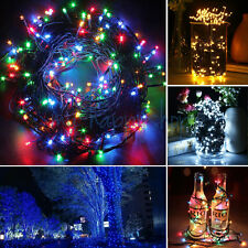 30M 300 Leds String Fairy Lights Mains Powered Xmas Party + Controller UK Stock