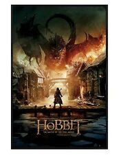The Hobbit Gloss Black Framed Battle Of The Five Armies Maxi Poster 61x91.5cm