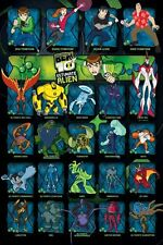 New Ultimate Alien Character Collage Ben 10 Poster