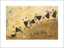 Sam Toft Watch This Doris! Print 80x60cm