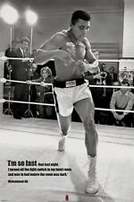 New I'm so Fast Muhammad Ali in Training Poster