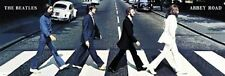 New Abbey Road The Beatles Panoramic Poster