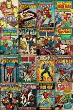 Iron Man Covers Montage Poster 61x91.5cm