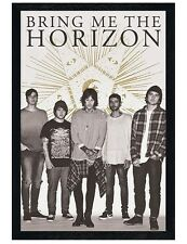 Bring Me The Horizon Black Wooden Framed Star BMTH Maxi Poster 61x91.5cm
