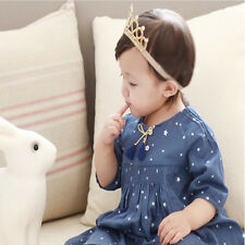 Baby Hair Accessories Princess Tiaras Crowns Headband Elastic Birthday New