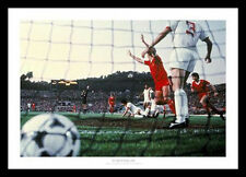 Liverpool FC 1984 European Cup Final Goal Photo Memorabilia (551)