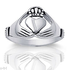 Heart Claddagh  Ring Stainless Steel 316L