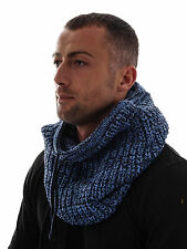 Brunotti Winter Scarf Scarf Loop Kormina blau Cord knitted