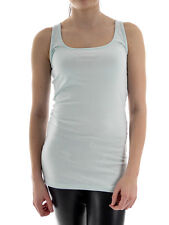 Broadway Tank Top Tank Top Beppina light blue Basic Round Neck fitted