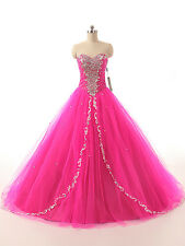 Strapless New Long Prom Dresses Organza Formal Quinceanera Dress Prom Ball Gown