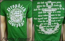 DROPKICK MURPHYS IRISH ROVER IRISH PIRATE ANCHOR PUNK ROCK T TEE SHIRT S-2XL