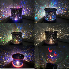 Romantic Kids Bedroom LED Starry Night  Sky Projector Lamp light Cosmos Master
