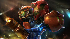 Metroid Prime Game Fabric Art Cloth Poster 43inch x 24inch Decor 01