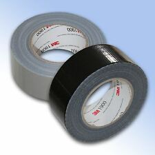 """Duc Duct Duck Gaffa Gaffer Waterproof Black & Silver 2"""" 50mm x 50M Strong Tape"""