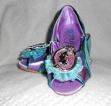 ARIEL LITTLE MERMAID COSTUME SHOES FOR GIRLS SIZE 9-10 OR 11-12 DISNEY STORE NWT