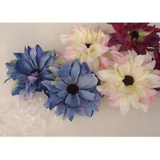 20x Artificial Silk Daisy Flower Wedding bride Hair Clip Slippers Accessories