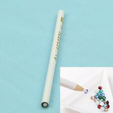 Lot Nail Art Rhinestones Gems Picking Crystal Tool Wax Pencil Pen Picker NEW