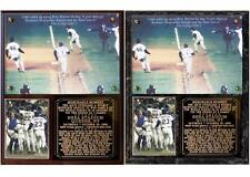 New York Mets 1986 World Series Game 6 Photo Plaque Miracle Mets
