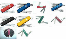 New Victorinox Swiss Army 58mm Knife    CLASSIC SD    YOUR Color CHOICE