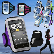 For HTC 10 Desire 555 650 One M9 M8 E8 M7 Armband Sports Jogging GYM Case Holder