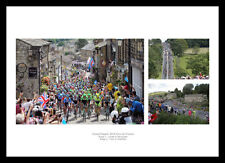 2014 Tour de France Yorkshire Grand Depart Cycling Photo Memorabilia (MU14)